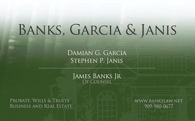 Banks, Garcia & Janis
